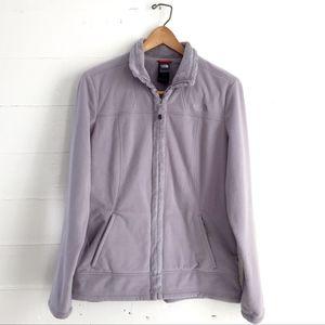 North Face Womens Fleece Jacket Lavender Large